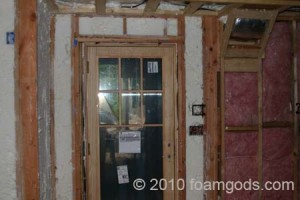 exterior and interior insulation photo